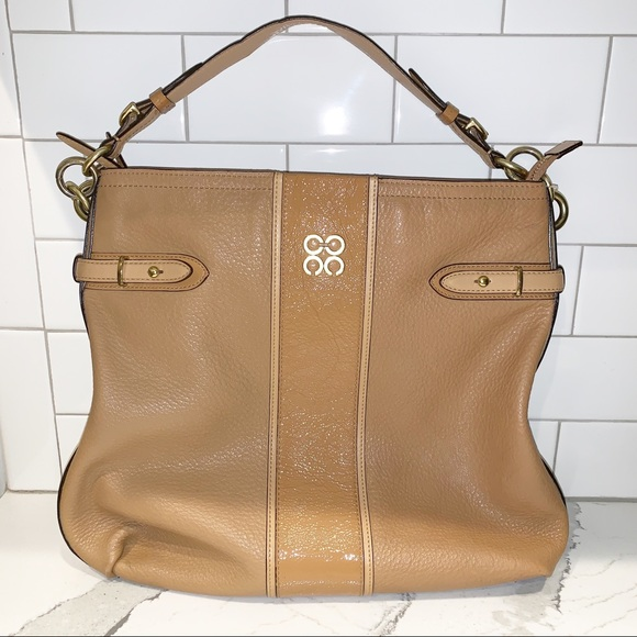 Coach Handbags - Coach Tan Colette Hobo 16457 Rare Leather Bag